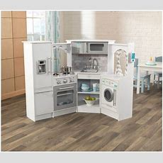 Kidkraft Ultimate Corner Play Kitchen Set, White Ebay