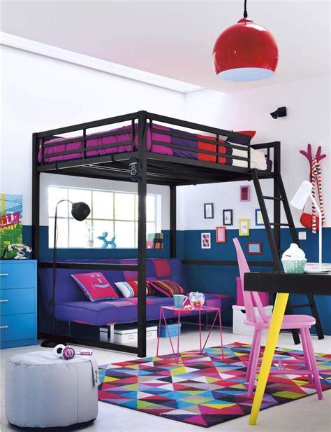 chambre mezzanine ado beau chambre ado fille avec lit mezzanine avec idee deco