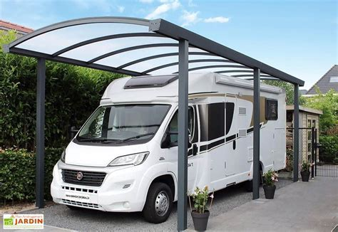 Carport Camping Car Aluminium et Polycarbonate 16 mm