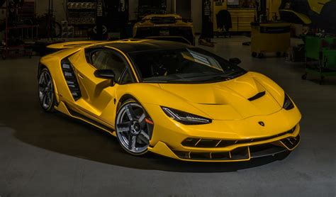 yellow lamborghini yellow lamborghini centenario delivered in california