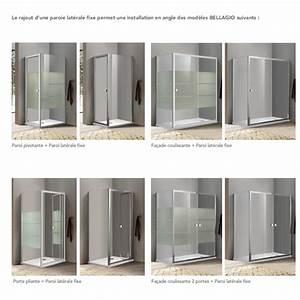 Paroi De Douche Pliante : paroi de douche porte pliante bellagio robinet co ~ Melissatoandfro.com Idées de Décoration