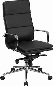 Metal Office Chair Contemporary Flash Furniture High Back ...