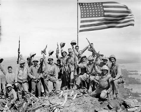 raise the siege battle of iwo jima flag raising thinglink