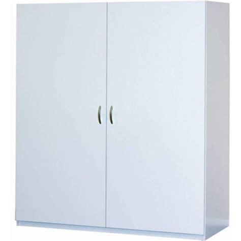 closetmaid 48 wide wardrobe cabinet closetmaid 80 in h x 48 in w x 16 in d white melamine