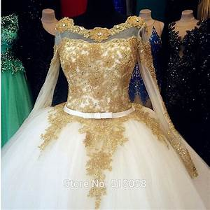 aliexpresscom buy victorian gothic style gold With gold beaded wedding dress