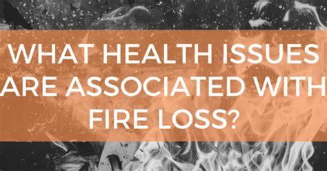 health issues    fire loss denver