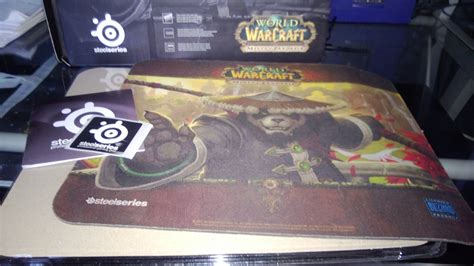quel tapis de souris 187 test tapis de souris steelseries qck world of warcraft mists pandaria pc