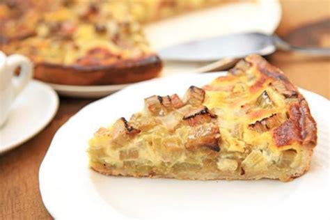 2 cuisinez comme un chef recette tarte à la rhubarbe économique 750g