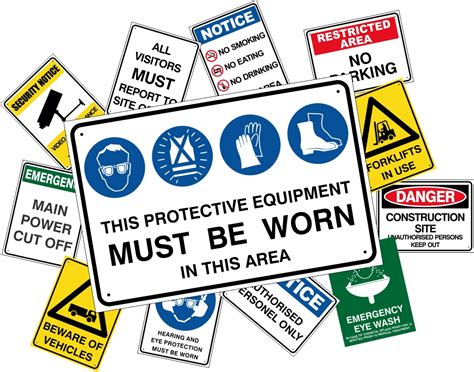 ozsigns danger workplace safety signs