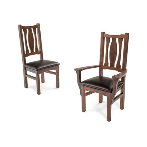 oak dining chairs with arms oak arm chair green gables 7127