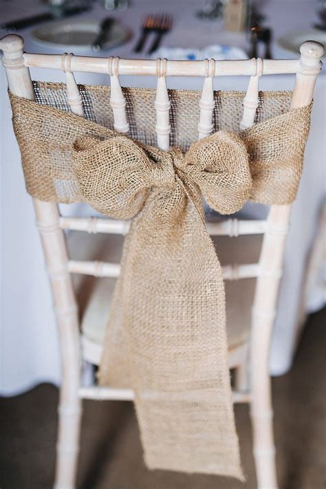 habillage chaise mariage 25 best ideas about chair bows on wedding