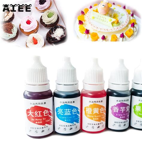 Food Coloring Ingredients by Aiee 1pc 10ml Macaron Food Coloring Ingredients Cake