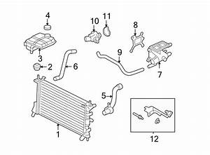 Ford Focus Gasket  Thermostat  Coolant  Engine  2 3 Liter