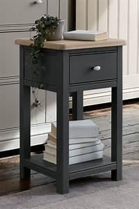 Hampton, 1, Drawer, Bedside, Table, U00a3199, Next