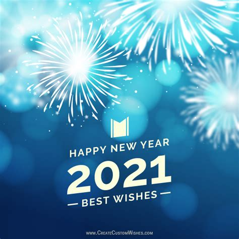 happy  year wishes cards create custom wishes