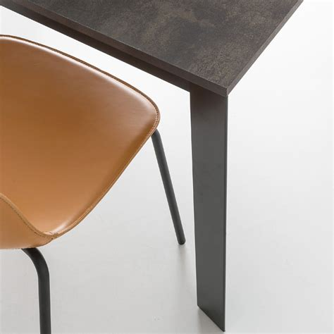 Sedie In Cuoio Calligaris by Sedia Living Connubia By Calligaris Academy In Cuoio Made
