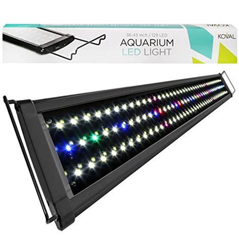 36 inch led aquarium light koval inc 129 led aquarium light with extendable brackets