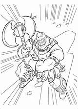 Thor Desenhos Colorir Disegni Colorare Colorear Coloring Gambar Desenho Dibujos Mewarnai Kleurplaat Coloriage Executioner Skurge Ausmalbilder Stampare Imprimir Film Fun sketch template