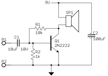 Why Doesn Transistor Audio Amplifier Work