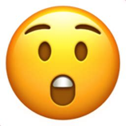 Astonished Face Emoji (u+1f632