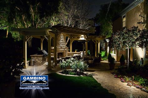 gambino landscape lighting effective landscape lighting