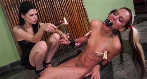 Brazilian Teen Bdsm Of Lesbian Slave Girl Gia In