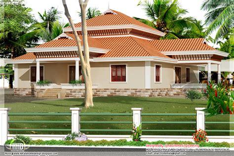 single house designs 3 bedroom kerala style single storey house kerala home design and floor plans