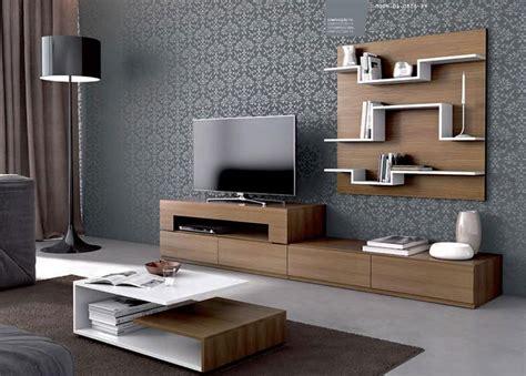 pareti attrezzate moderne  idee  design  arredare