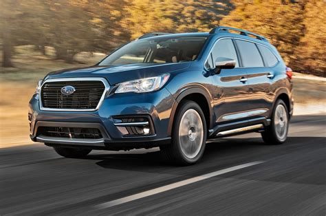 Subaru Ascent Review by 2019 Subaru Ascent Reviews And Rating Motor Trend