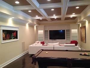 architect boye modern basement atlanta by boye With room painting ideas for basement rec