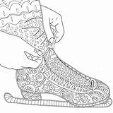 Coloring Pages Skating Ice Figure Printable Skate Kind Asteroid Mac Adult Adults Zentangle Shoes Colorama Drawing Hockey Colouring Cheese Getcolorings sketch template