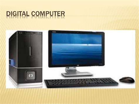Knowing Different Types Of Computer (basic
