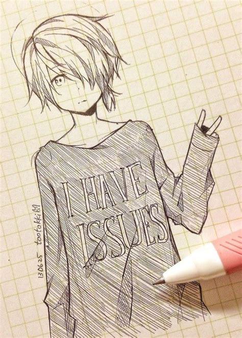 cute anime drawing tootokki   issues sweater anime
