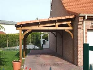 Construire Un Carport : carport bois avantages abri voitures en bois ~ Premium-room.com Idées de Décoration