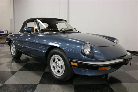 1988 Alfa Romeo by 1988 Alfa Romeo Spider Veloce For Sale 76623 Mcg