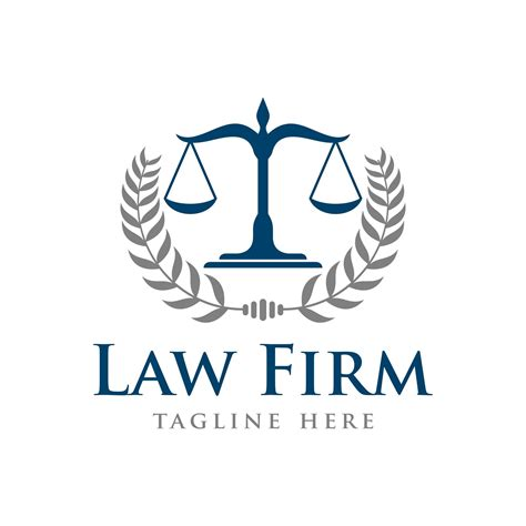 law office logo design free draw to color