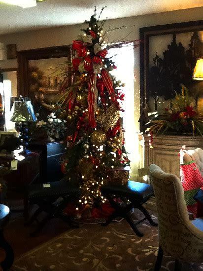 christmas decor at the new trenton indian sacksteders