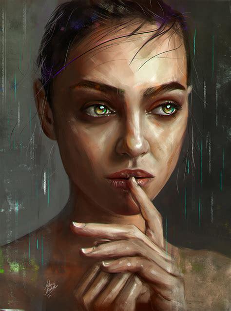 amazing digital illustrations  painting art  ahmed