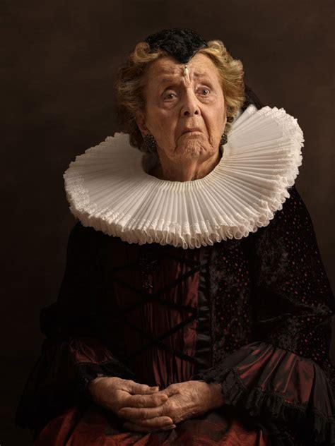 modern dutch portrait photography inspired  flemish