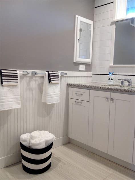 craftsman style decor Bathroom Craftsman with backsplash