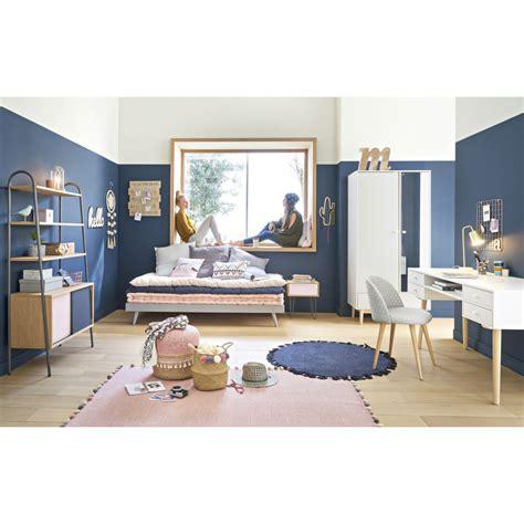 matelas gaddiposh en coton bleu  jeans maisons du monde