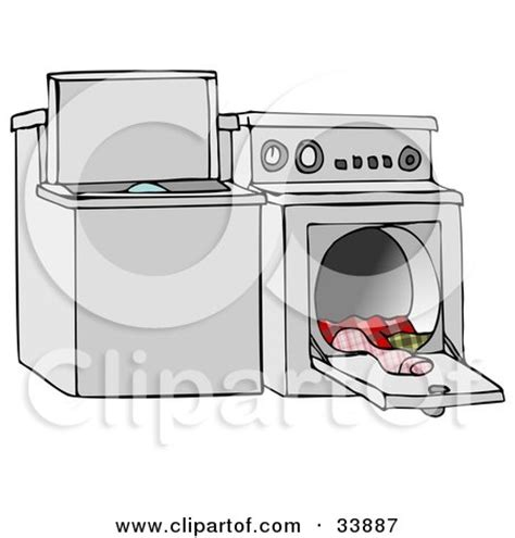 Royaltyfree (rf) Washing Machine Clipart, Illustrations