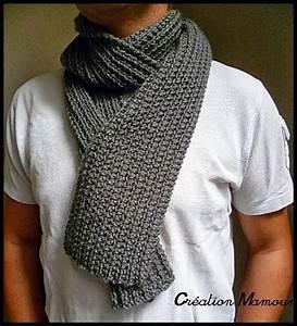 Echarpe Homme Tricot : echarpe homme tricot tricot echarpe femme modele gratuit ~ Melissatoandfro.com Idées de Décoration