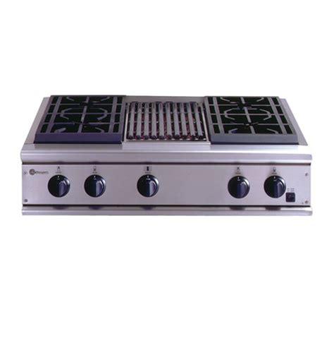 zgunryss ge monogram  professional gas cooktop