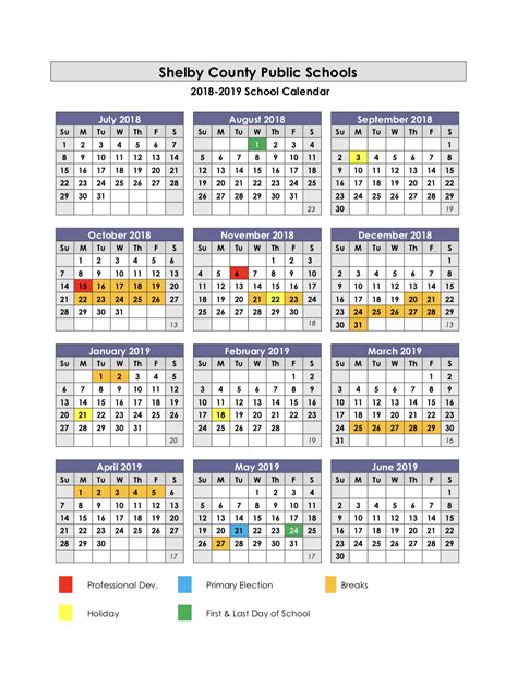 simpsonville elementary calendar