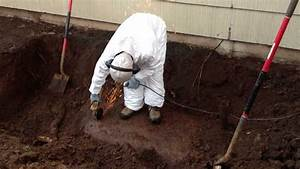 Environmental Works Cutting Into Another Leaking Underground Heating Oil Tank