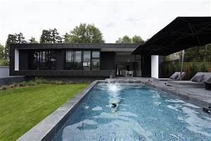 Pool Modern House By Lode Architecture  France