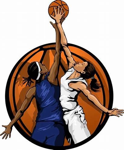Basketball Clipart Clip Ball Player Vector Jump