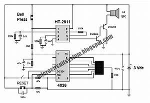 Simple Wiring Diagram For Single Door Bell