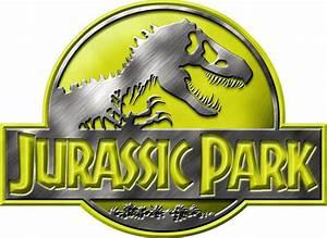 jurassic park logo Yellow by OniPunisher on DeviantArt
